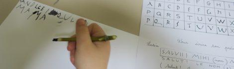 """""""A vos stylets... !"""" Atelier écriture avec les CP-CE1 de l'école de Béruges"""