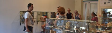 Huit mois au musée de Béruges : comment se passe le service civique au musée ?