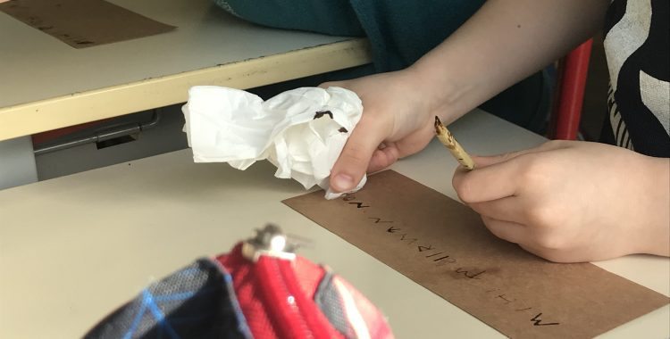 Atelier : L'écriture dans l'Antiquité - CE1
