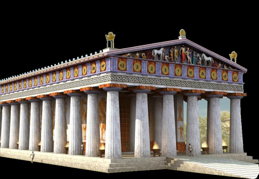 Temple antique