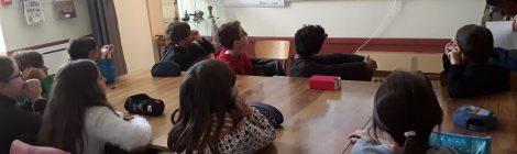 Comment se passe une activité pédagogique au musée de Béruges ?