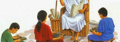 Jeux : L'écriture dans l'Antiquité