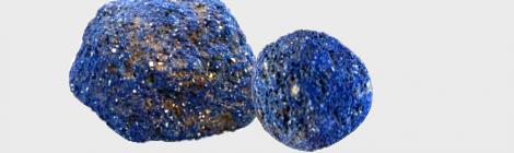 Objet du mois : Boules de bleu égyptien